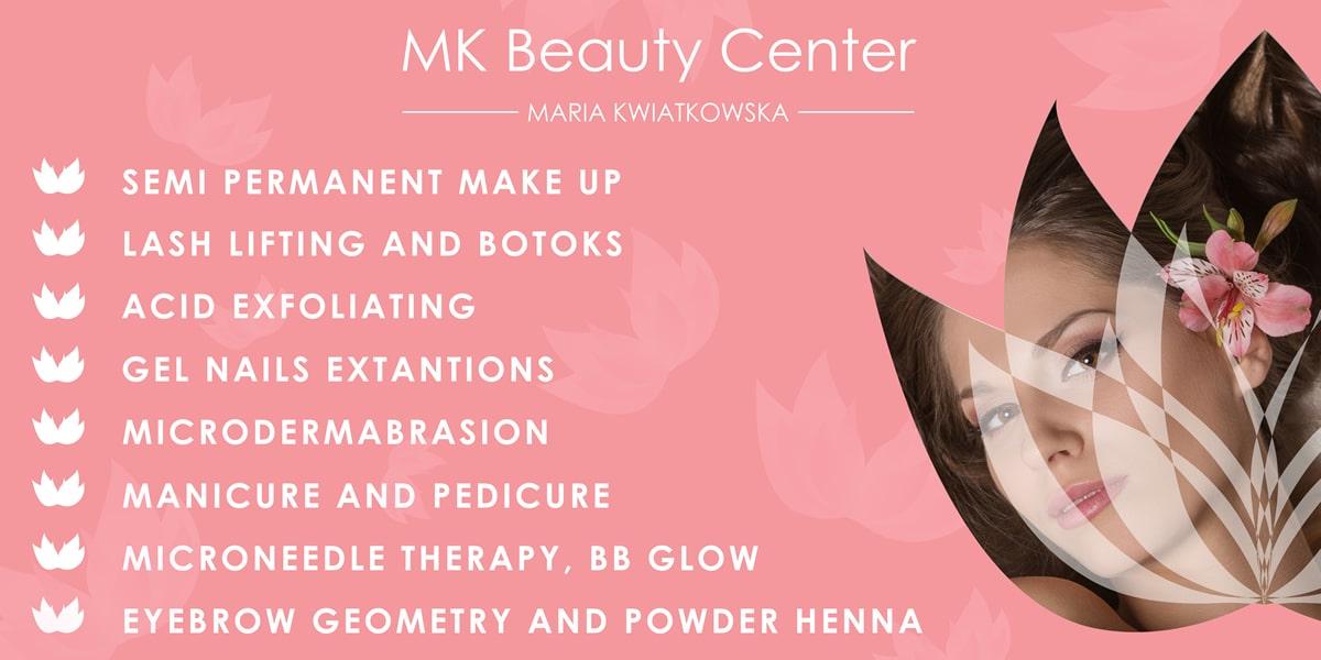 BANNER MK Beauty Center